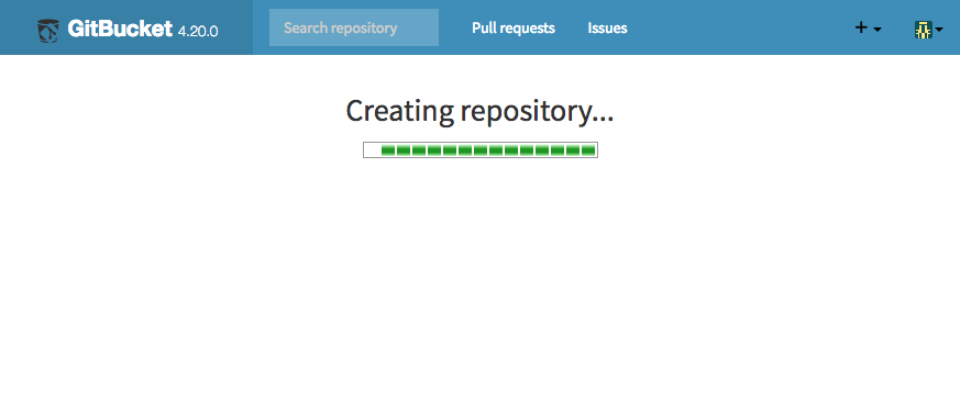 Creating repository